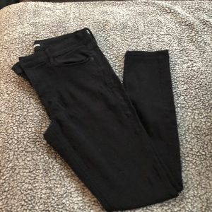 Express Black Jean Legging  12L Midrise